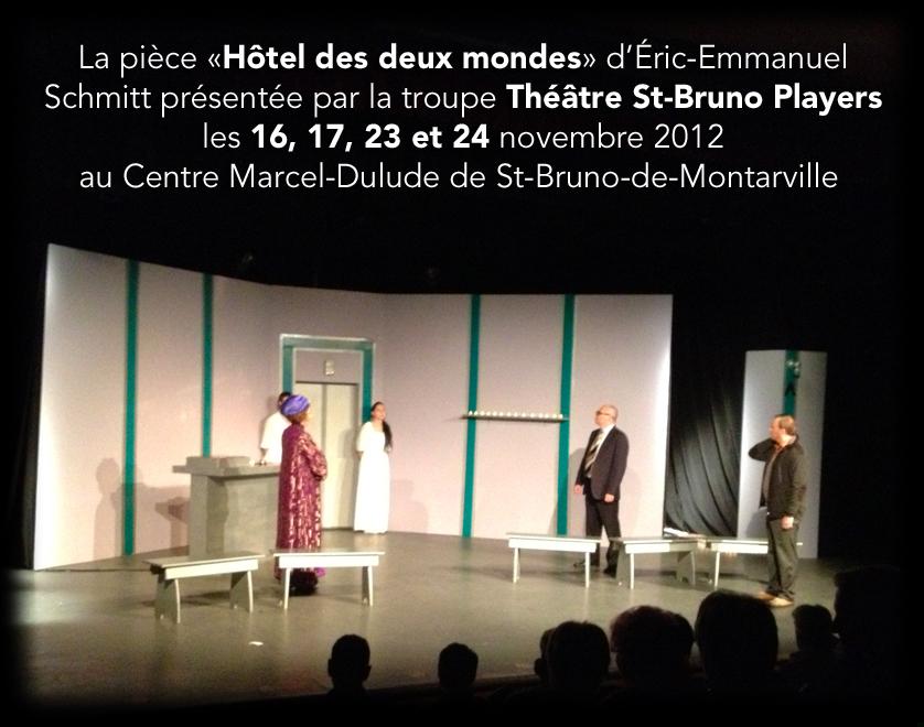 Soir de première pour la troupe Théâtre Saint-Bruno Players