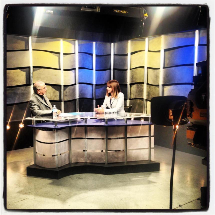 Entrevue à TVRS-Vox