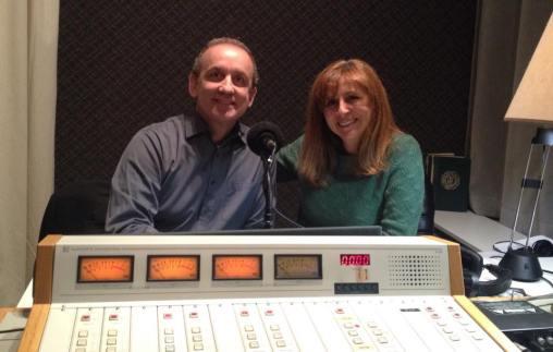 Enregistrement des voeux de Noël au 99.5FM Radio-Classique (décembre 2014)
