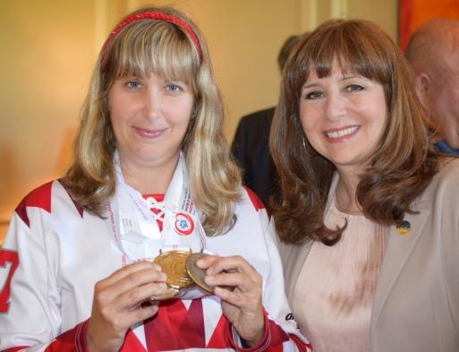 Nathalie Roy et Renée Pelletier